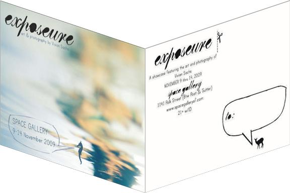 Exposeure postcard mailed